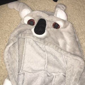Other - Fuzzy koala onesie